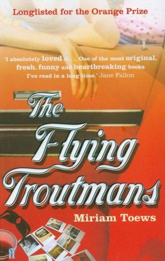 Flying Troutmans - okładka książki