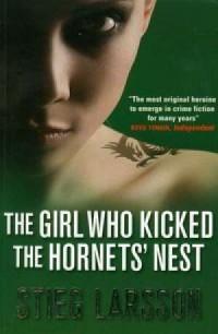 Girl Who Kicked the Hornets Nest - okładka książki