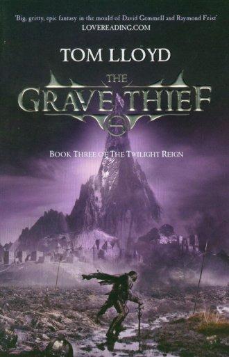 Grave Thief - okładka książki