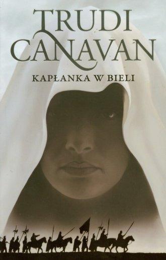 Kapłanka w bieli - okładka książki