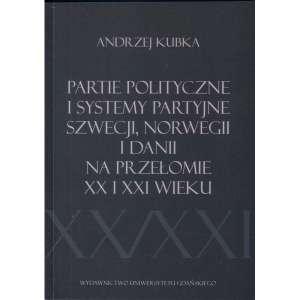 Partie polityczne i systemy partyjne - okładka książki