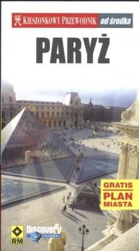 Paryż. Kieszonkowy przewodnik od środka - okładka książki
