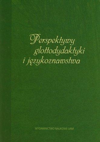 Perspektywy glottodydaktyki i językoznawstwa. - okładka książki