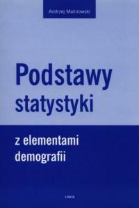 Podstawy statystyki z elemenatmi demografii - okładka książki