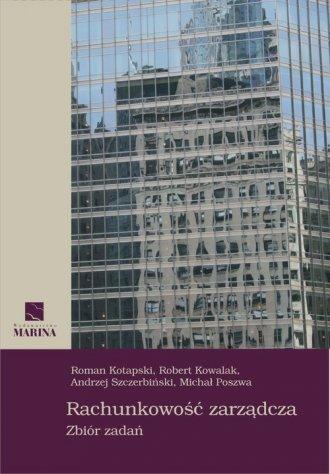 Rachunkowość zarządcza. Zbiór zadań - okładka książki