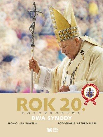 Rok 20. Fotokronika. Dwa synody - okładka książki