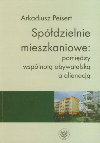 Spółdzielnie mieszkaniowe. Pomiędzy - okładka książki