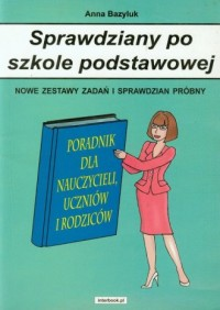 Sprawdziany po szkole podstawowej - okładka książki