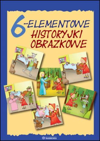 6-elementowe historyjki obrazkowe - okładka książki
