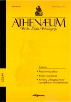 Athenaeum. Polskie Studia Politologiczne - okładka książki