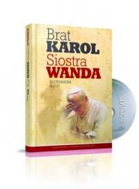 Brat Karol. Siostra Wanda - okładka książki