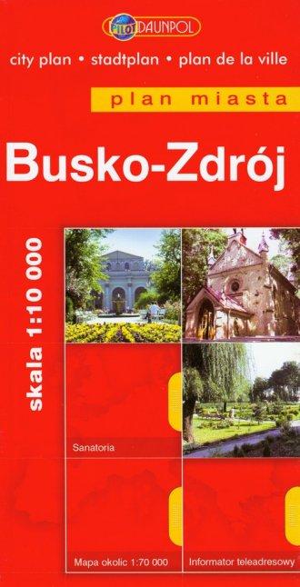 Busko-Zdrój (plan miasta) - okładka książki
