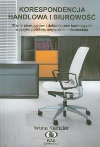 Korespondencja handlowa i biurowość - okładka książki