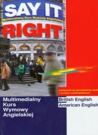 Multimedialny kurs wymowy angielskiej (+ CD) - okładka podręcznika