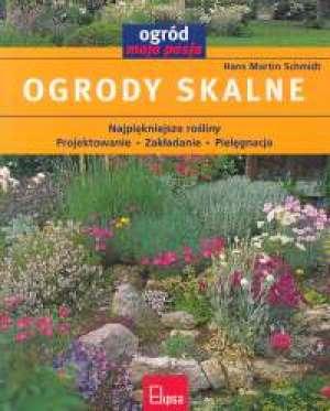 Ogrody skalne - okładka książki