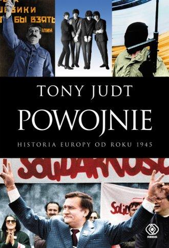 Powojnie. Historia Europy od roku - okładka książki
