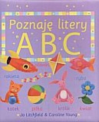 Poznaję litery ABC - okładka książki