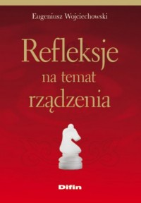Refleksje na temat rządzenia - okładka książki
