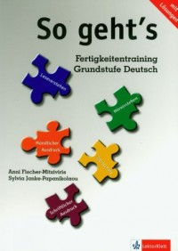 So gehts Fertigkeitentraining Grundstufe Deutsch - okładka podręcznika