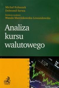 Analiza kursu walutowego - okładka książki