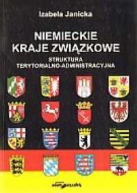 Niemieckie kraje związkowe. Struktura - okładka książki
