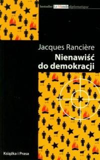 Nienawiść do demokracji - okładka książki