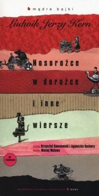 Nosorożce w dorożce i inne wiersze (+ CD mp3) - okładka książki