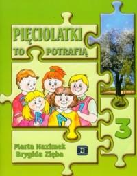 Pięciolatki to potrafią cz. 3 - okładka książki