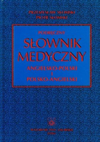 Podręczny słownik medyczny angielsko-polski, - okładka książki