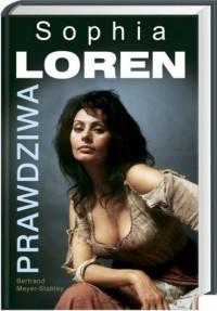Prawdziwa Sophia Loren - okładka książki