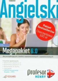 Profesor Henry. Angielski. MegaPakiet 6.0 (CD). PAKIET - okładka podręcznika