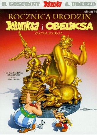 Rocznica urodzin Asteriksa i Obeliksa. - okładka książki