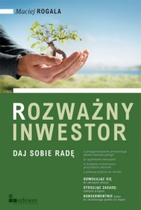 Rozważny inwestor - okładka książki