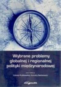 Wybrane problemy globalnej i regionalnej - okładka książki