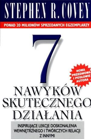 7 nawyków skutecznego działania - okładka książki