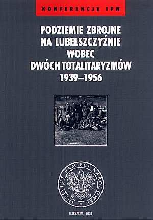 Podziemie zbrojne na Lubelszczyźnie - okładka książki