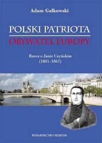 Polski patriota - obywatel Europy. - okładka książki
