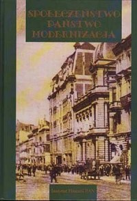Społeczeństwo, państwo, modernizacja - okładka książki