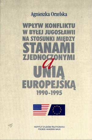 Wpływ konfliktu w byłej Jugosławii - okładka książki