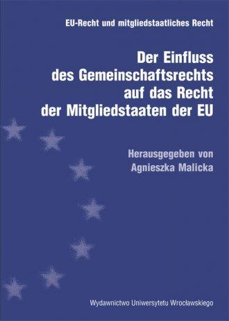 Der Einfluss des Gemeinschaftsrecht - okładka książki