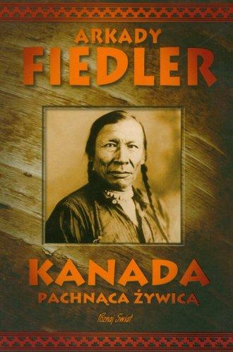 Kanada pachnąca żywicą - okładka książki