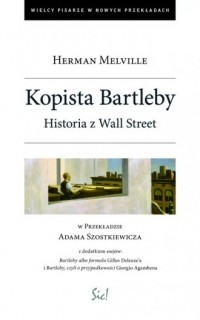 Kopista Bartleby. Historia z Wallstreet - okładka książki