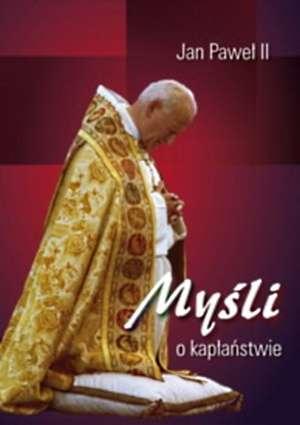 Myśli o kapłaństwie - okładka książki