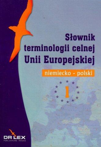 Niemiecko-polski słownik terminologii - okładka książki