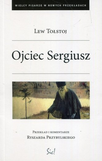Ojciec Sergiusz - okładka książki
