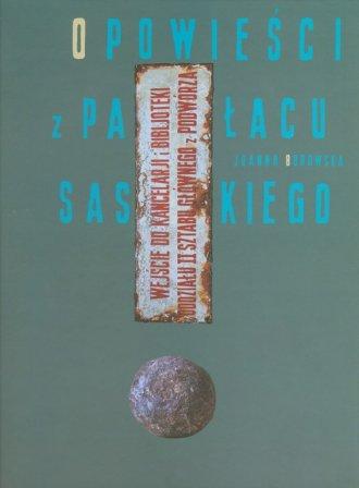 Opowieści z Pałacu Saskiego - okładka książki