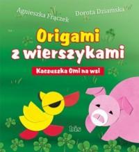 Origami z wierszykami. Kaczuszka - okładka książki