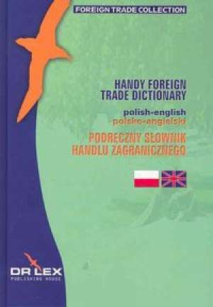 Podręczny słownik handlu zagranicznego - okładka książki