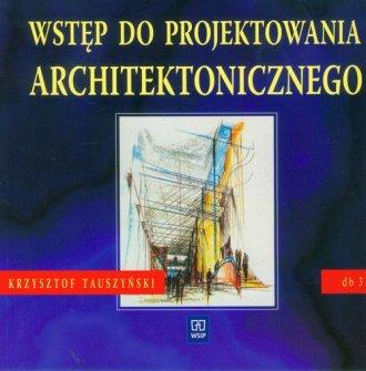 Wstęp do projektowania architektonicznego - okładka podręcznika