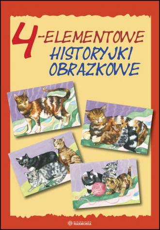 4-elementowe historyjki obrazkowe - okładka książki